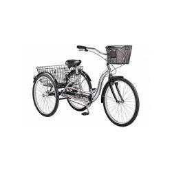 """Велосипед Stels Energy I 26"""" V020 Серый/Черный (с корзиной) (LU085324)"""