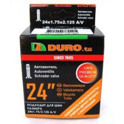 "Велокамера 24"" DURO 24х1,75/2,125 А/V/DHB01006"