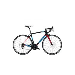 Велосипед WILIER GTR TEAM ULTEGRA 8000 RS10 BLACK BLUE RED 2018