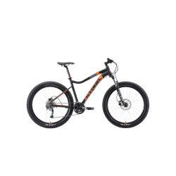 """Велосипед Stark'19 Tactic 27.5 + HD чёрный/оранжевый 17"""""""