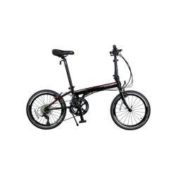 """Велосипед  Dahon SPEED D18 20"""" чёрный, крылья, багажник, насос, 18 ск."""