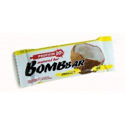 Батончик протеиновый Bombbar 60гр  (кокос)