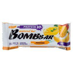 Батончик протеиновый Bombbar 60гр  (манго-банан)
