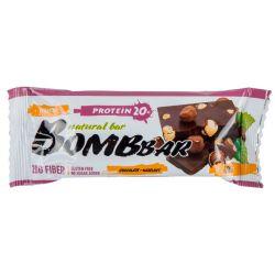 Батончик протеиновый Bombbar 60гр  (шоколад-фундук)