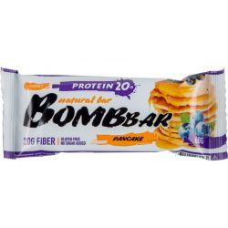 Батончик протеиновый Bombbar 60гр  (смородиново-черничный панкейк)