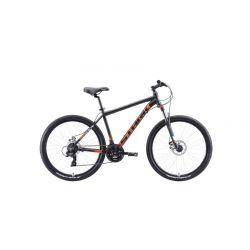 """Велосипед Stark'20 Indy 26.2 D чёрный/оранжевый/белый 18"""""""