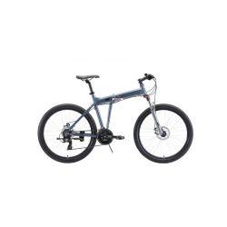 """Велосипед Stark'20 Cobra 26.2 D серый/черный 18"""""""