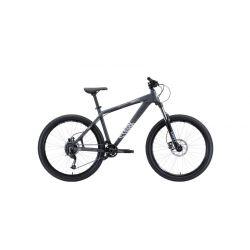 "Велосипед Stark'20 Shooter-3 серый/белый 18"""