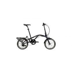 """Велосипед Dahon CURL I4 18"""" чёрный, крылья, багажник, насос, 4 ск."""