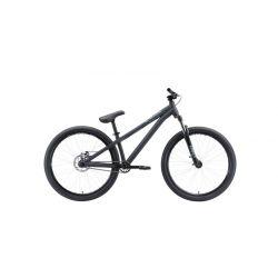Велосипед Stark'20 Pusher-2 чёрный/серый S