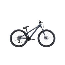 Велосипед Stark'20 Pusher-1 серый/серебристый S