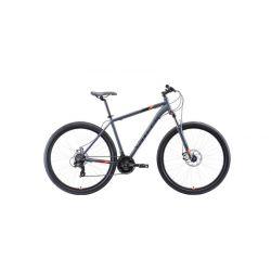 """Велосипед Stark'20 Hunter 29.2 D серый/чёрный/оранжевый 18"""""""