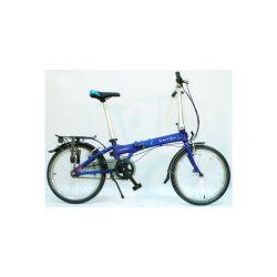 """Велосипед Dahon Vitesse D7HG Navy, колёса 20"""", крылья, багажник, насос, 7 скор."""