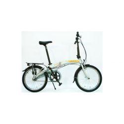 """Велосипед Dahon Curve i3-20 Ash,колёса 20"""", крылья, багажник, насос, 3 скор."""