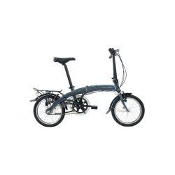 """Велосипед Dahon Curve i3 Smoke,колёса 16"""", крылья, багажник, насос, 3 скор."""