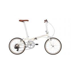 """Велосипед Dahon BOARDWALK D8 20"""" белый, крылья, багажник, насос, 8 ск."""