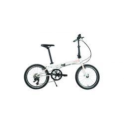 """Велосипед  Dahon SPEED D18 20"""" белый, крылья, багажник, насос, 18 ск."""