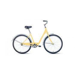 """Женский велосипед Forward Grace 26 1.0 (2020) Бежевый 17"""""""