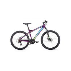 """Горный велосипед Forward Flash 26 2.0 disс (2019) Белый 17"""""""