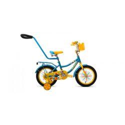 """Детский велосипед Forward Funky 14 (2019) Бирюзово-красный 14"""""""