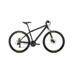 """Горный велосипед Forward Apache 27,5 3.0 Disc (2020) Бирюзово-зеленый 19"""""""