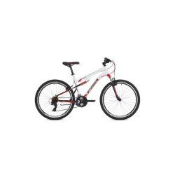 """Двухподвесный велосипед Stinger Discovery 26"""" (2018) Белый 16"""""""