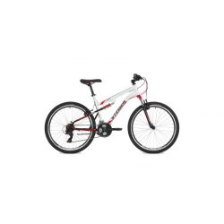 """Двухподвесный велосипед Stinger Discovery 26"""" (2018) Белый 18"""""""