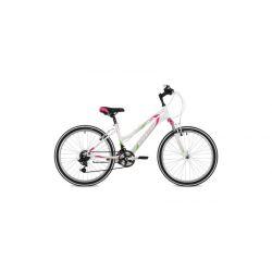 """Подростковый велосипед Stinger Latina 24 (2018) Белый 12.5"""""""