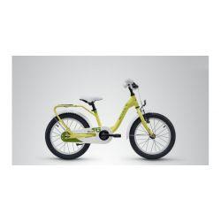 "Детский велосипед Scool niXe 16 steel (2018) Белый 16"""