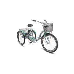 """Комфортный велосипед Stels Energy III V030 (2018) Зеленый 16"""""""