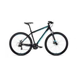 """Горный велосипед Forward Apache 29 2.0 Disc (2020) Серо-красный 21"""""""