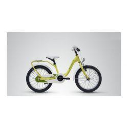 "Детский велосипед Scool niXe 16 steel (2019) Желтый 16"""