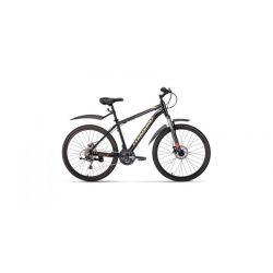 """Горный велосипед Forward Hardi 26 2.0 Disc (2020) Светло-желтый 17"""""""