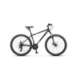 """Горный велосипед Stels Navigator 500 MD F010 (2019) Серебристо-синий 20"""""""