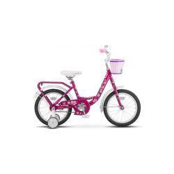 "Детский велосипед Stels Flyte Lady 16"" Z011 (2018) Голубой 16"""