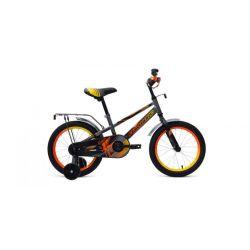 "Детский велосипед Forward Meteor 16 (2019) Желто-синий 16"""