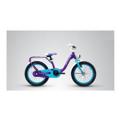 """Детский велосипед Scool niXe 16 alloy (2019) Голубой 16"""""""