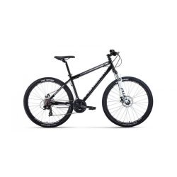"Горный велосипед Forward Sporting 27,5 2.0 Disc (2020) Зелено-серый 19"""