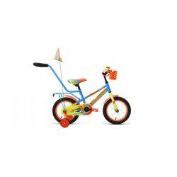 """Детский велосипед Forward Meteor 14 (2019) Голубо-зеленый 14"""""""