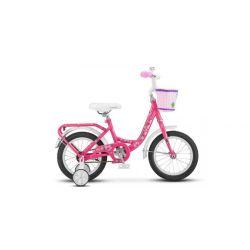 "Детский велосипед Stels Flyte Lady 14"" Z011 (2018) Голубой 14"""