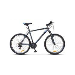 """Горный велосипед Stels Navigator 500 V V020 (2018) Серо-синий 16"""""""