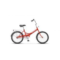 """Складной велосипед Stels Pilot 410 Z011 (2018) Малиновый 20"""""""