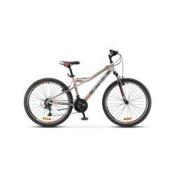 """Горный велосипед Stels Navigator 510 V V030 (2018) Серо-красный 14"""""""