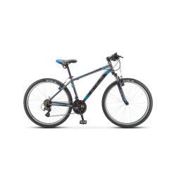 """Горный велосипед Stels Navigator 500 V V030 (2019) Серо-синий 16"""""""
