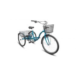 "Комфортный велосипед Stels Energy VI V010 (2018) Зеленый 17"""