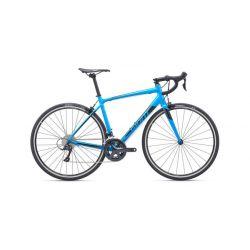 Шоссейный велосипед Giant Contend 1 (2019) Серо-черно-оранжевый 55.5 см