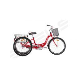 Комфортный велосипед Stels Energy I V020 (2018) Красно-белый