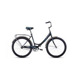 """Складной велосипед Forward Sevilla 26 1.0 (2020) Серо-серебристый 18.5"""""""