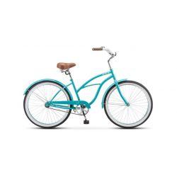 """Женский велосипед Stels Navigator 110 Lady 1-sp V010 (2019) Желтый 17"""""""