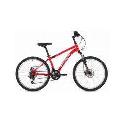 """Подростковый велосипед Stinger Caiman D 24"""" (2019) Красный 12"""""""
